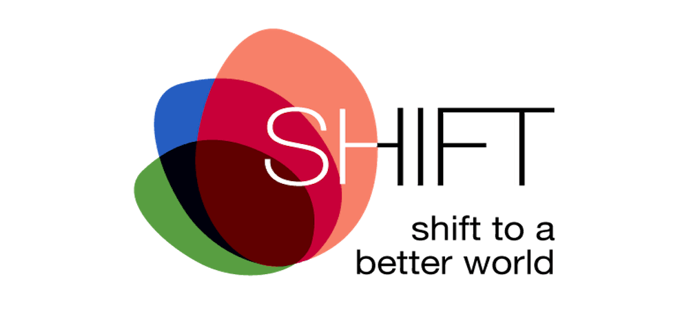 SHIFT to a better world logo