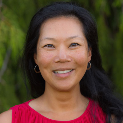 Angie Woo leads a Climate Resilience & Adaptation Program as part of the Lower Mainland health organizations' sustainability portfolio, GreenCare.