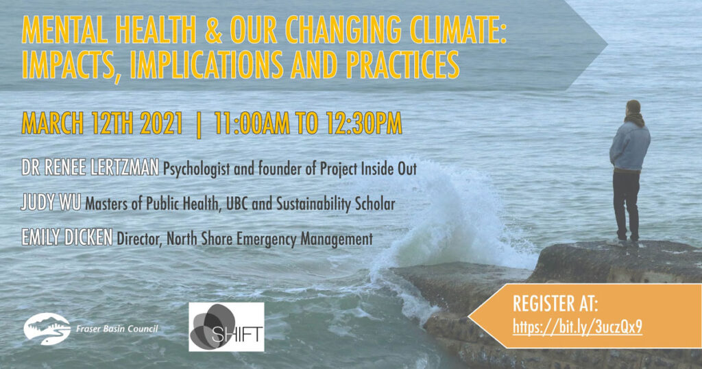 Mental health and our changing climate: Impacts, Implications and practices.